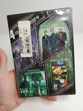 4 Film Favorites: The Matrix Dvd Trilogy Collection - Brand New - Free Shipping