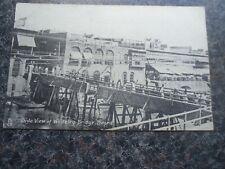 VINTAGE POSTCARD SIDE VIEW OF WHITELEY BRIDGE BASRA IRAQ AROUND 1916 ? R TUCK