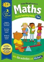 KS1 Maths Leap ahead Home Learning Workbooks For Kids Age 7-8 years New