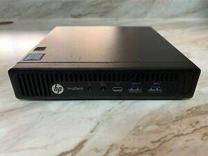 HP PRODESK 600 G2 Mini Desktop PC I5-6500T 2.50GHZ 256GB SSD 16GB RAM W10 Wifi