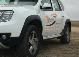 Wheel arch extensions for Renault Duster (2015-2020)