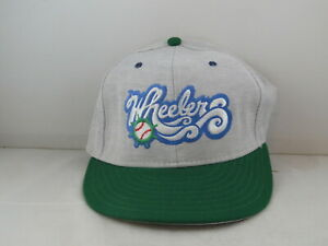 Charleston Wheelers Hat (VTG) - Major Minor Affiliate by Pro Line - Fitted 7 3/8