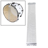 "Pro 24 Strand Coiled Snare Wire For 14"" Snare Drum Cajons Accessories ~ Silver"