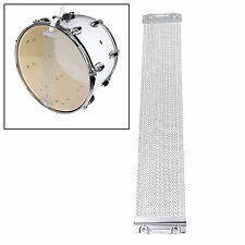 """24 Strand Coiled Snare Wire For 14"""" Snare Drum Cajons ~ Silver"""