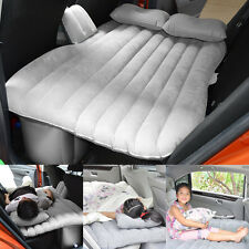 From US Car Inflatable Air Cushion Sleep Bed Seat Rest Mattress Gray Outdoor Set