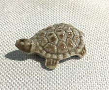 Vintage Porcelaine Mini Turtle Figurine Wade England