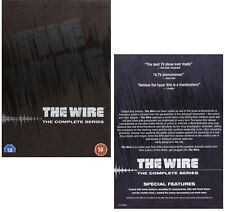 THE WIRE 1-5 (2002-2008)  COMPLETE HBO Crime TV Season Series UK DVD not US