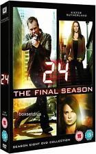 24 COMPLETE SEASON 8 - FINAL SEASON -***BRAND NEW & SEALED DVD**