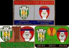 metal pin St Patrick's Athletic F.C. + Dundalk + Sligo Rovers Ireland