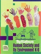 Human Society and Its Environment, K-6 Syllabus by Office of the Board of Studie