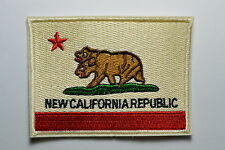 Embroidered New Republic Double Head Bear Iron On Patches Stong n Cool
