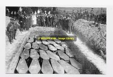 rp01949 - Cunard Liner - Lusitania Mass Grave - photo 6x4
