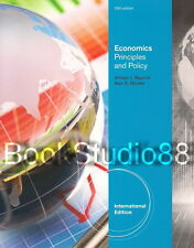 NEW 3 Days to US Economics Principles and Policy 12E Baumol Blinder 12th Edition