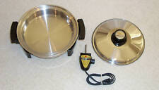"""Kitchen Craft Oil Core 11.5"""" Electric Skillet Fry Pan"""
