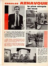 LISETTE 23  année 1964 (CHARLES AZNAVOUR YVETTE HORNER)
