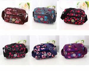 Light Weight Women CrossBody Bags Messenger Small Roomy Space Handbag Waterproof