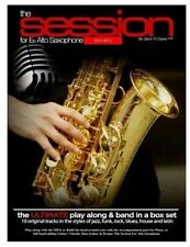 The Session For Eb Alto Saxophone With MP3s: The Ultimate Play-Along & Band Part