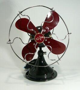 """Antique """"Star Rite"""" Electric Fan, ca. 1940, 9"""", Restored, Customized, Beautiful!"""