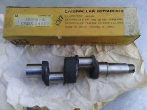 Caterpillar compressor crankshaft 4M6386 new old stock item. Suit 613 and D9G