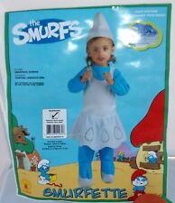 The Smurfs Smurfette Halloween Costume Newborn 0 - 6 mos New Baby Infant Girl