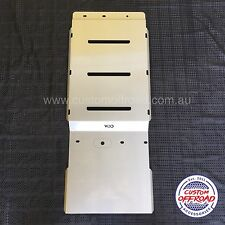 Ford Ranger PX MK1&2 2012 to 2016 Transmission 3mm Stainless Steel Bash Plate