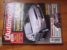 $$ Revue L'Automobile Magazine N°628 Renault Vel Satis  Ford Focus  Audi TT