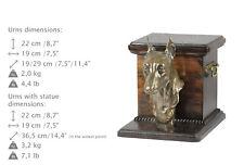 Miniature Pinscher, dog urn made of cold cast bronze, ArtDog, Ca - kind2
