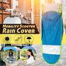Universal Car Motor Scooter Blue Umbrella Mobility Sun Shade Rain Cover