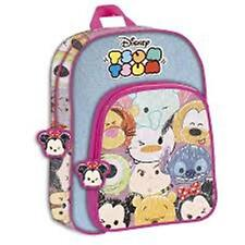 Disney TSUM TSUM - Large Backpack with Pocket Size: 32x41x13.5cm