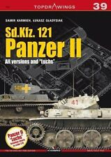 """Kagero Topdrawings 39: Sd.Kfz 121 Panzer II, All Versions and """"Luchs"""""""