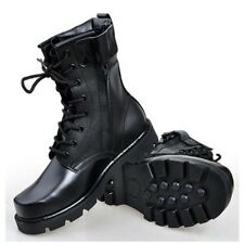 Men's Military Combat Tactical Performance Army Boots Lace Up Outdoor Flat Shoes