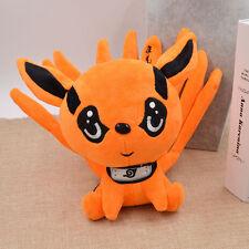 Cartoon Na ruto Süß Cosplay Naruto Kyuubi Kitsune Anime Nine Tails Fox Puppe