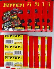 FERRARI Panini 10 sealed packs tuten bustina packet