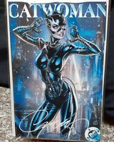 🔥 Catwoman 80th Anniversary Special #1 J. Scott Campbell SIGNED Exclusive H 🔥