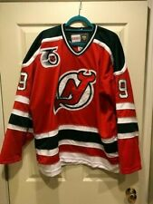 Authentic Vintage Martin Brodeur 1992 New Jersey Devils 10th Anniversary Jersey