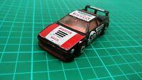 Vintage 1981 Matchbox Black BMW M1 Rally Racing Sports Car Pirelli 59 Toy 1:57