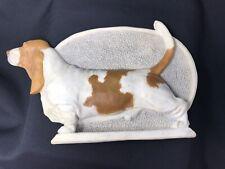 More details for basset hound wall plaque sculpture vintage peritas ltd edition