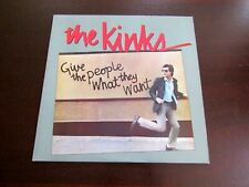 The Kinks lp record give the people what they want 1981