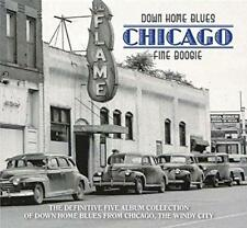 Down Home Blues Chicago: Fine Boogie - Various Artists (NEW 5CD)