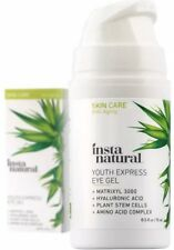InstaNatural Eye Gel Cream Wrinkle, Dark Circle Fine Line & Redness Reducer 15ml