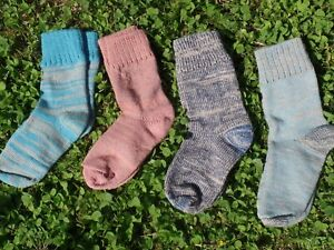 Handmade Alpaca/Merino wool socks, walking, sleeping, warming S M size