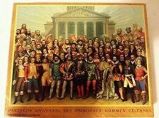 Pantheon Universel Des Principaux Hommes Celebres - 500 piece puzzle