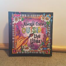Suzy Toronto Color Outside The Lines Journal by Suzy Toronto   *Signed Copy*