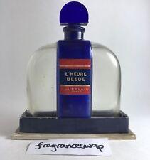 GUERLAIN L'HEURE BLEUE FLACON BORNE, CIRCA 1931. EXTREMELY RARE AND NEVER SEEN!