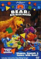 Bear in the Big Blue House: Shapes, Sounds and Colors With Bear DVD NEW