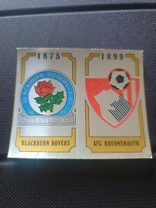 Panini Football 88 - No 410 Blackburn & Bournemouth Badge