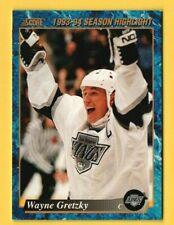 1993-94 Score Canadian #662 Wayne Gretzky - NHL All-Time Goal Scorer 802 Goals