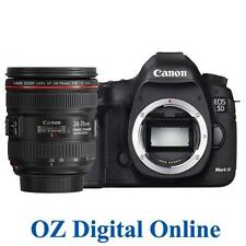 New Canon EOS 5D Mark IV 24-70 Kit 32GB MK 4 30.4MP Wifi NFC DSLR Camera 1Yr Wty