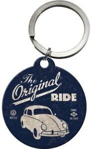VW Volkswagen Escarabajo The Original Ride Redondo Llavero (Na )