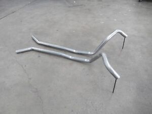 HOLDEN HK HT HG GTS MONARO DUAL SYSTEM CONNECTING PIPES SUIT DUAL IN/OUT MUFFLER